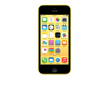 Apple-iPhone 5c - 8GB-Yellow